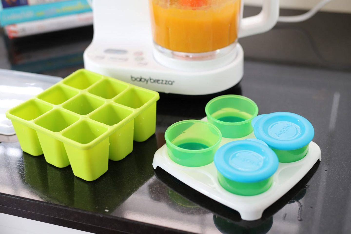 DIY baby food storage options using Nuby food storage containers
