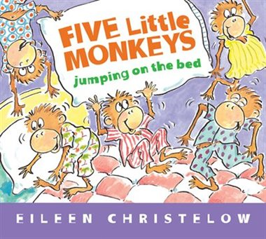 Five Little Monkeys Jumping On The Bed, 8 children classics