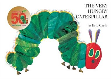 The Very Hunger Caterpillar, 8 classic books
