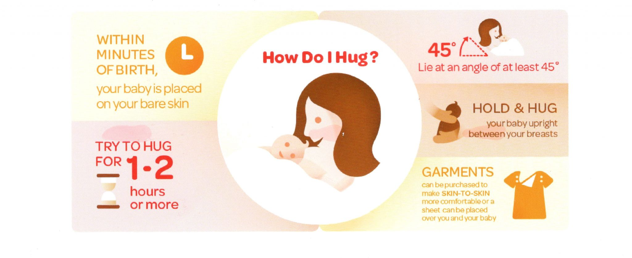 Photo of how to hug your baby in hug plan
