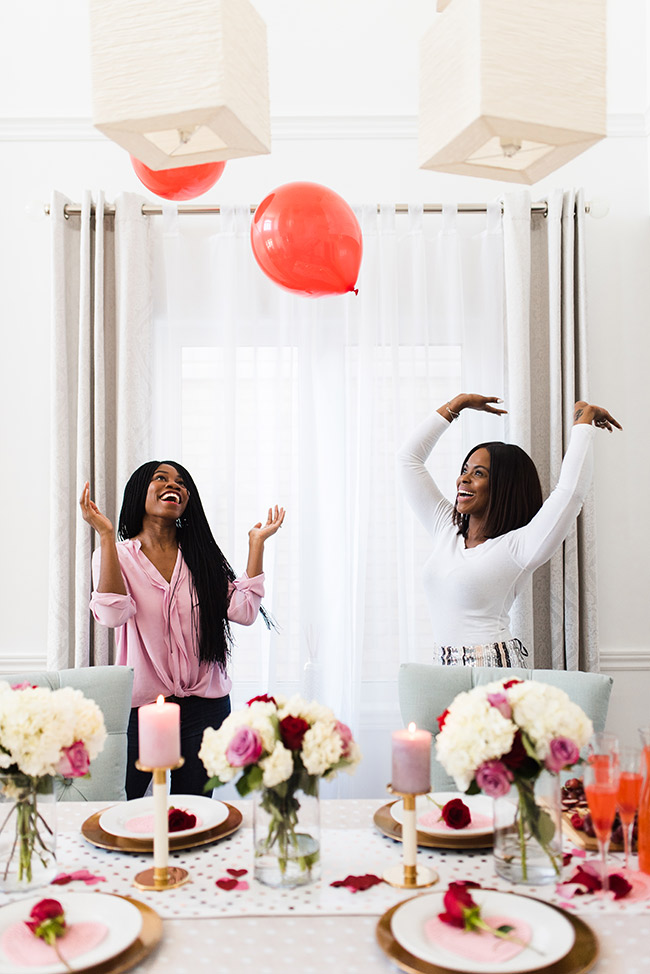 5 Steps for throwing the perfect DIY Galentine's Day party