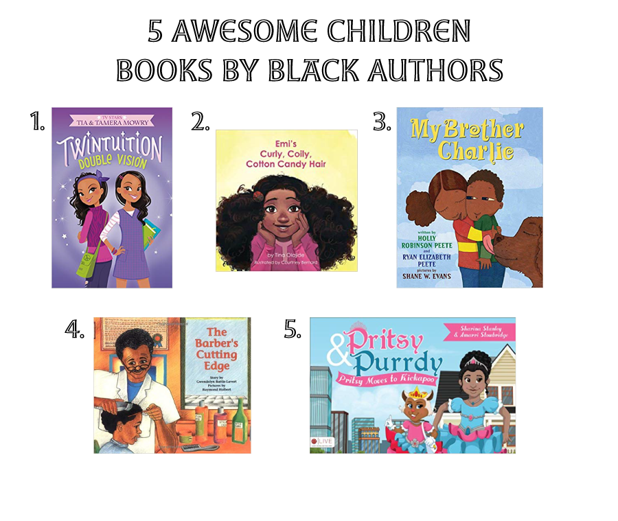 5 awesome children books written by black authors