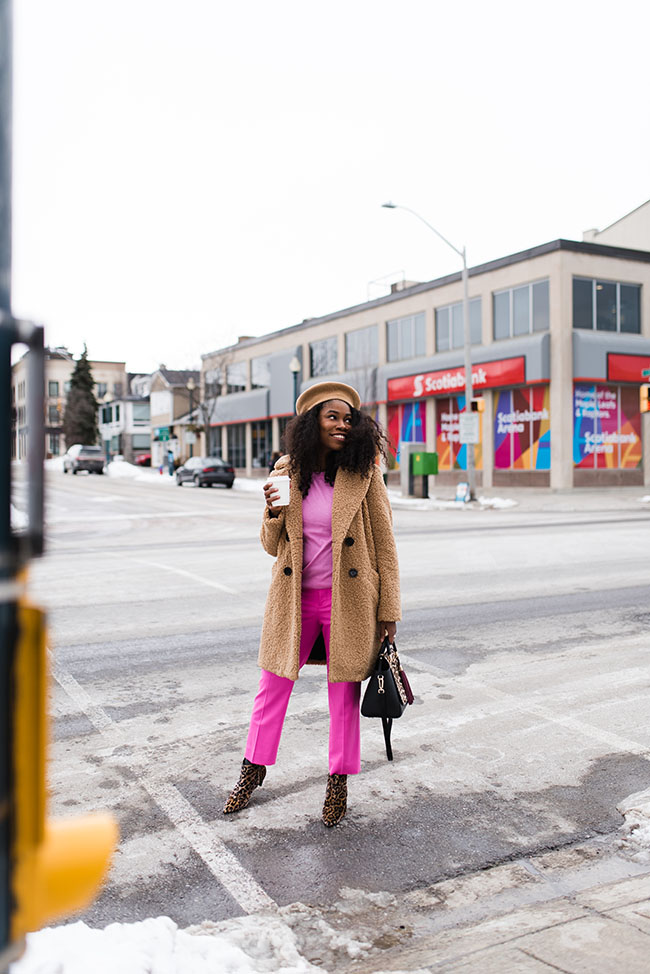 How To Wear: The Teddy Bear Coat: Sincerely Miss J