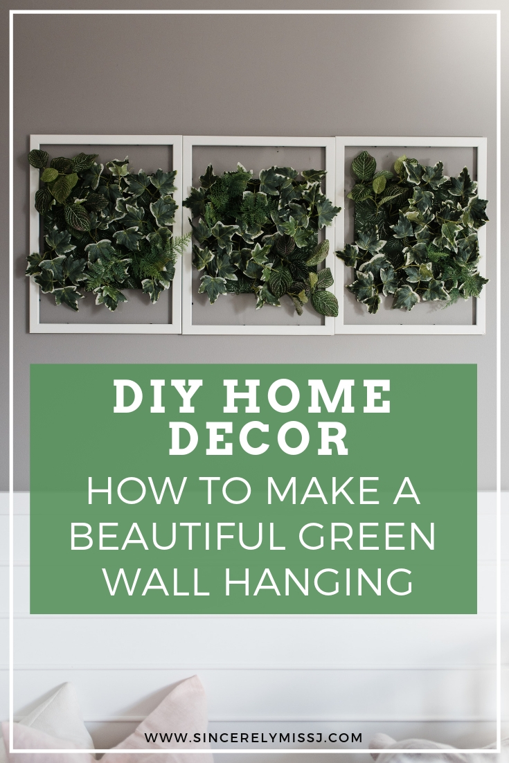 How to: DIY Greenery Wall Hanging