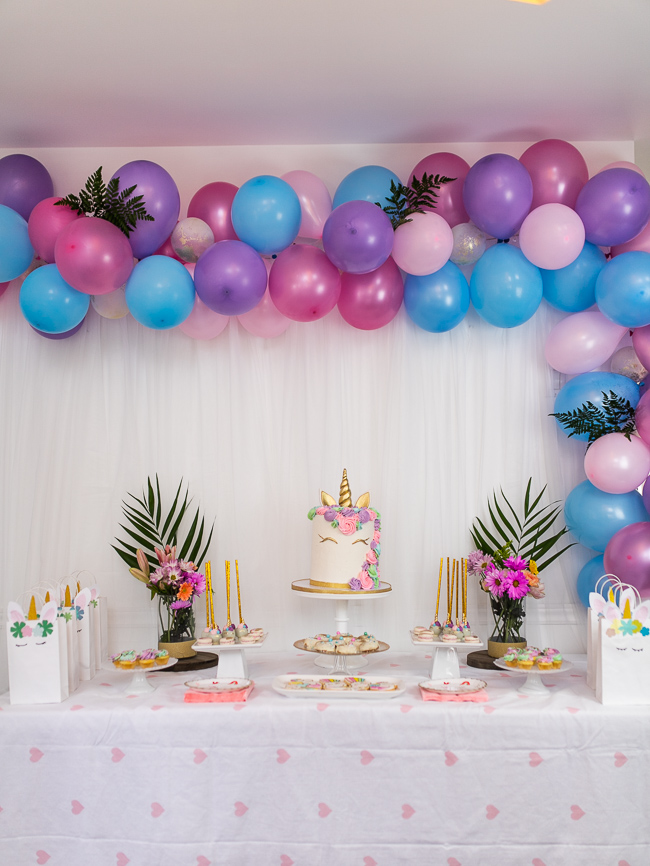 How to Throw a Magical Unicorn Themed Birthday Party +