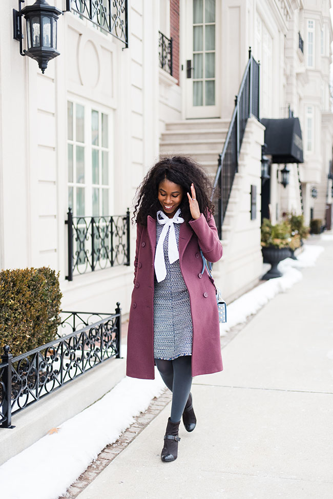 How to Style the bow-neck blouse: Sincerely Miss J