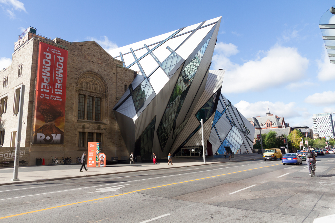 Photo of the Royal Ontario Museum