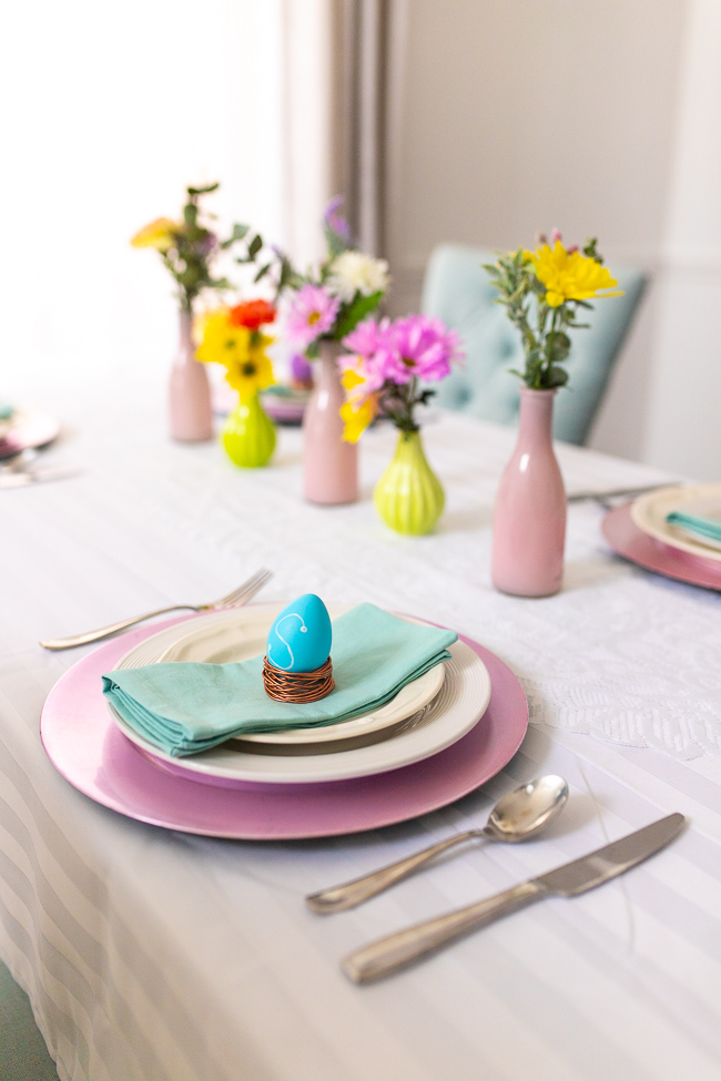 3 Easy DIY Easter Table setting ideas, You'll Love!