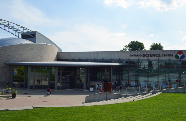 Photo of the science Centre