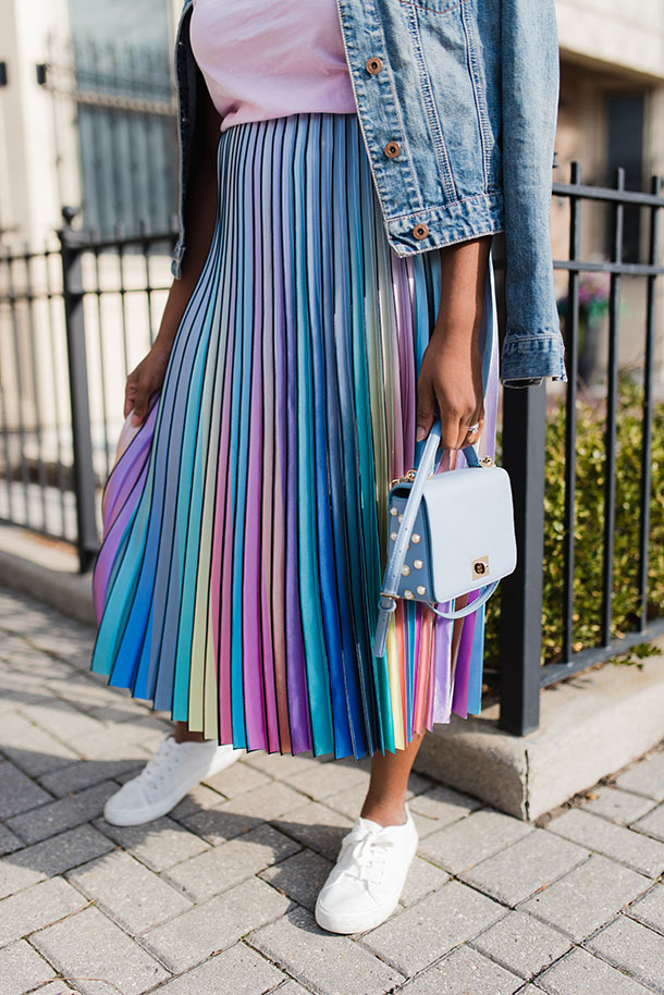 Two spring pastel outfit ideas you'll love wearing