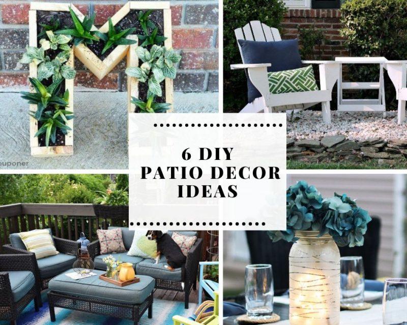 6 DIY Patio Decor Ideas to Brighten Your Outdoor Space