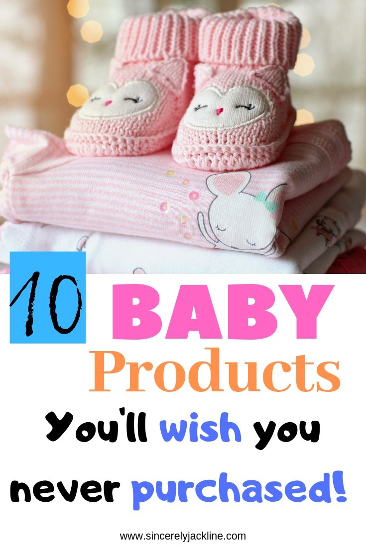 Pin for 10 baby items not worth buying