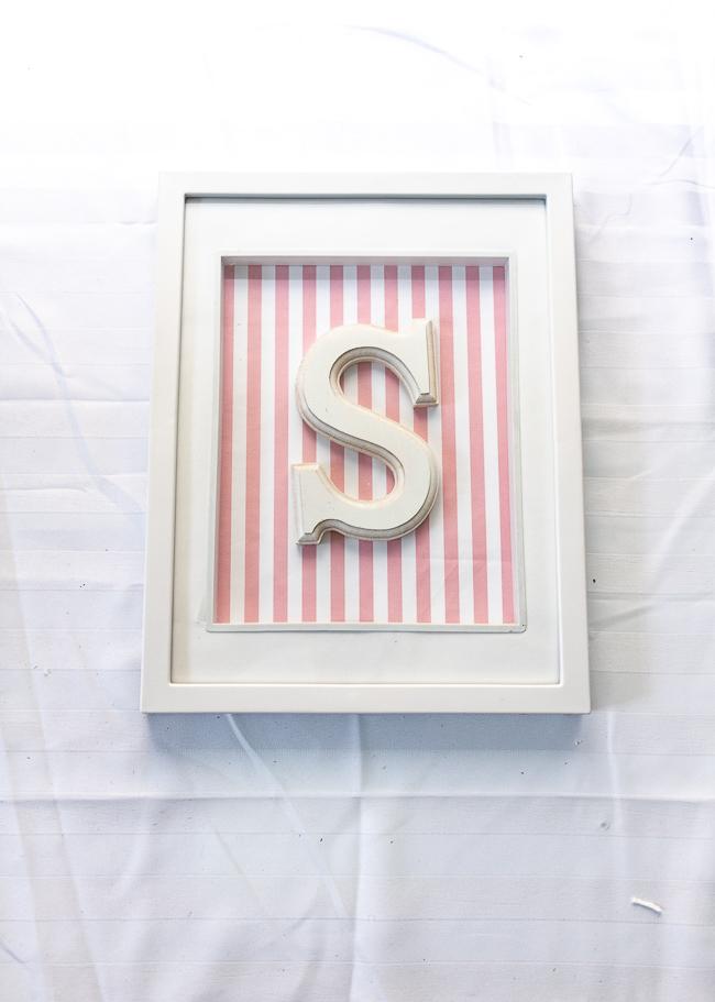 Nursery DIY Letter Wall Decor
