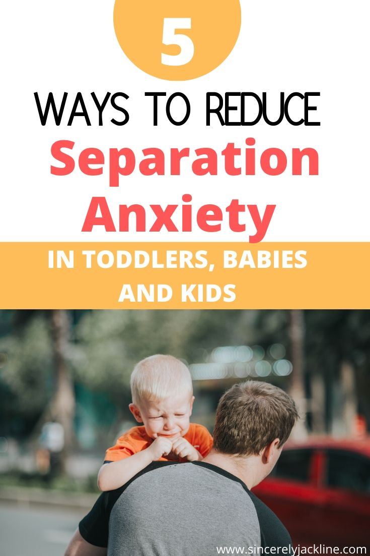 How to Help Toddler with Separation Anxiety