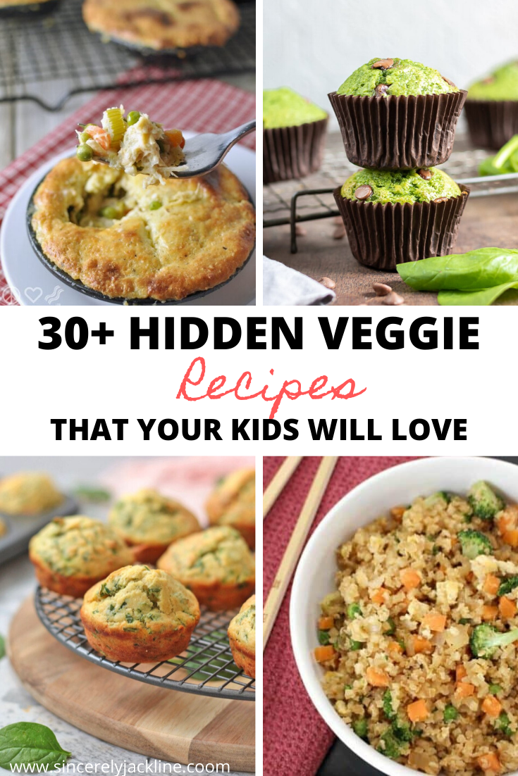 Hidden Veggie Recipes Your Kids Will Love
