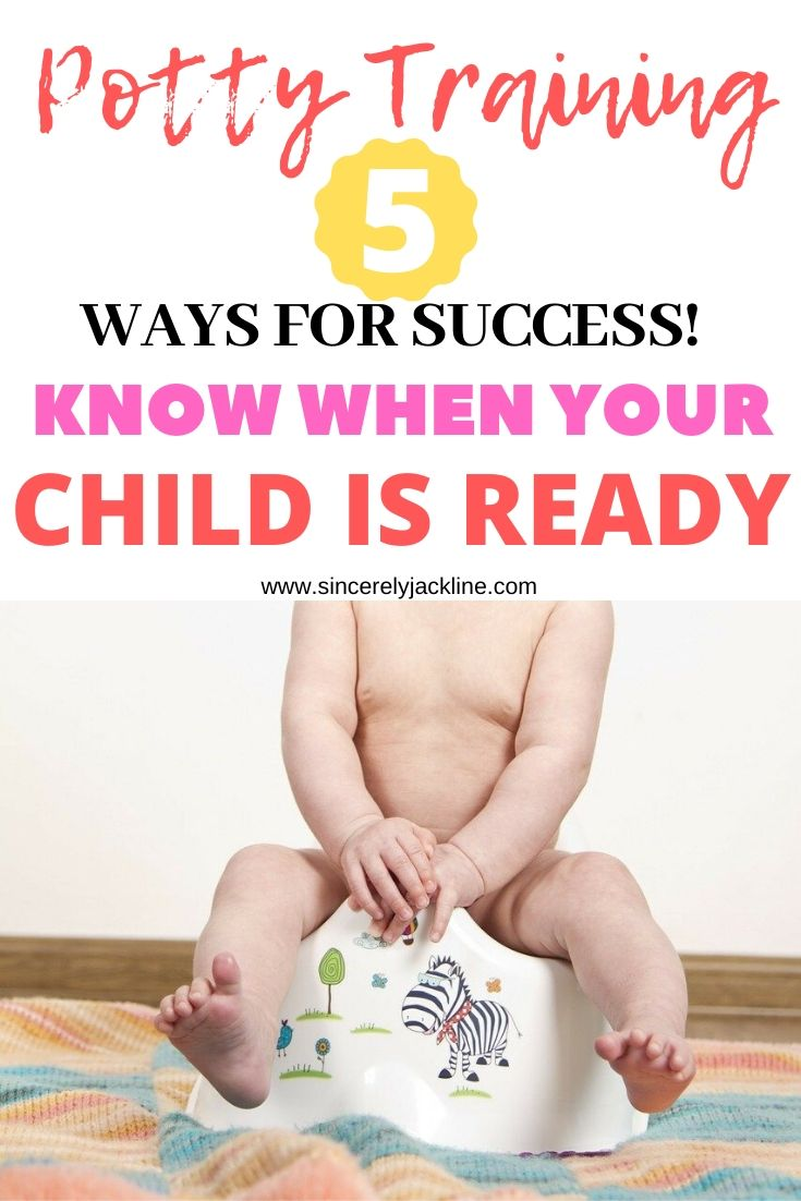 Potty Training Tips : 5 Ways to Know Your Child is Ready