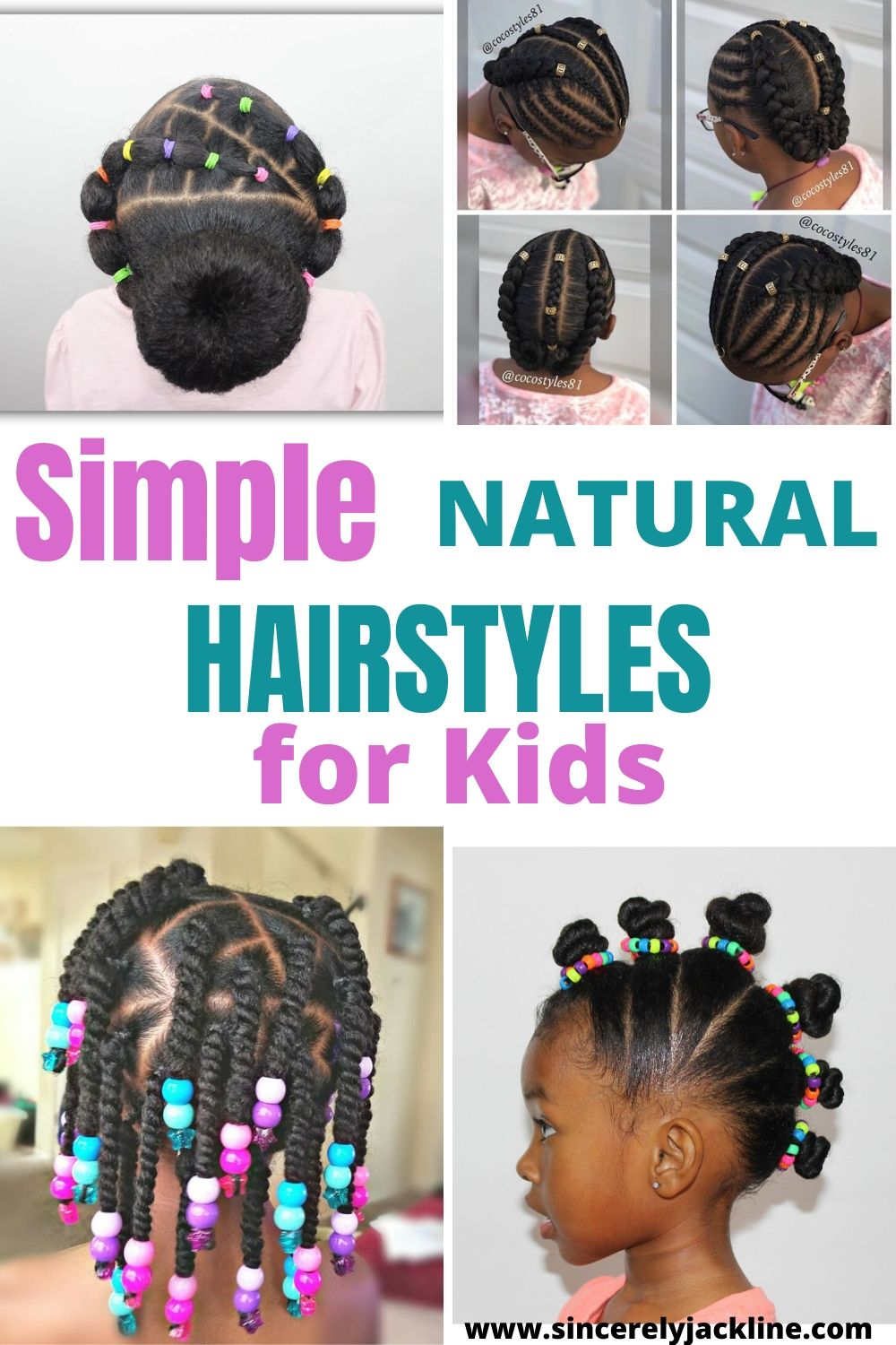 Super Easy Natural Hairstyles For Kids