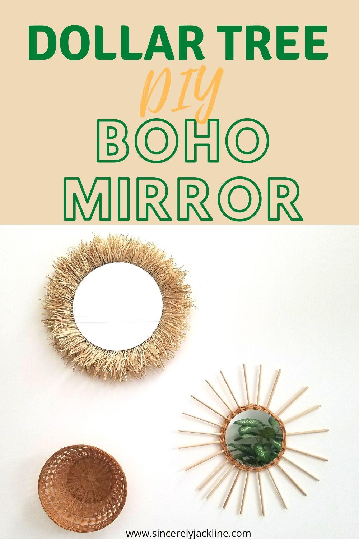 Diy Boho Decor Mirror Ideas