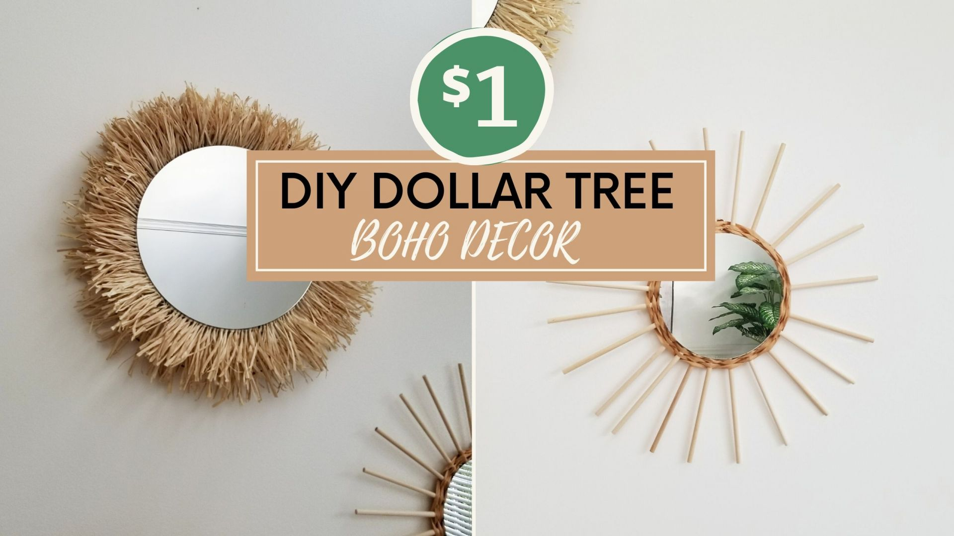 Diy Boho Decor Mirror Ideas