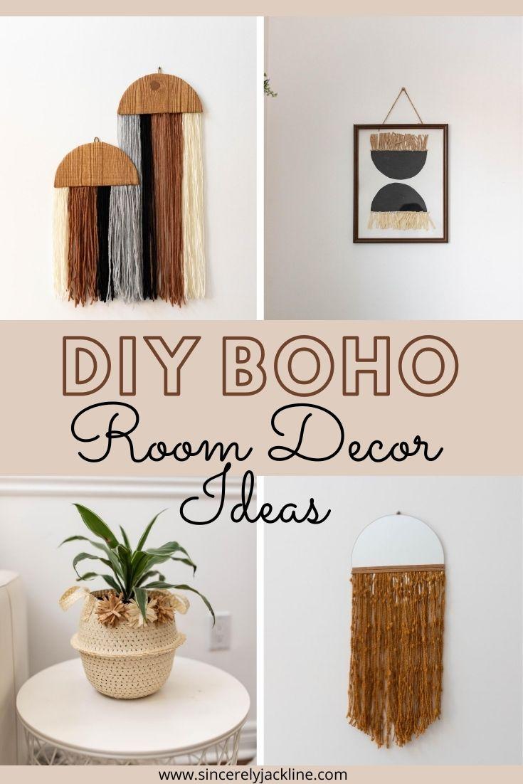 DIY boho Decor Ideas
