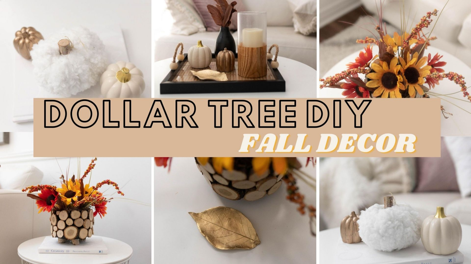 Easy DIY Fall Crafts